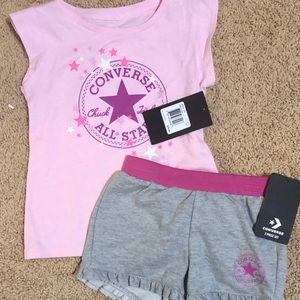 NWT size 4T converse outfit